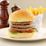 Triple Decker Hamburger